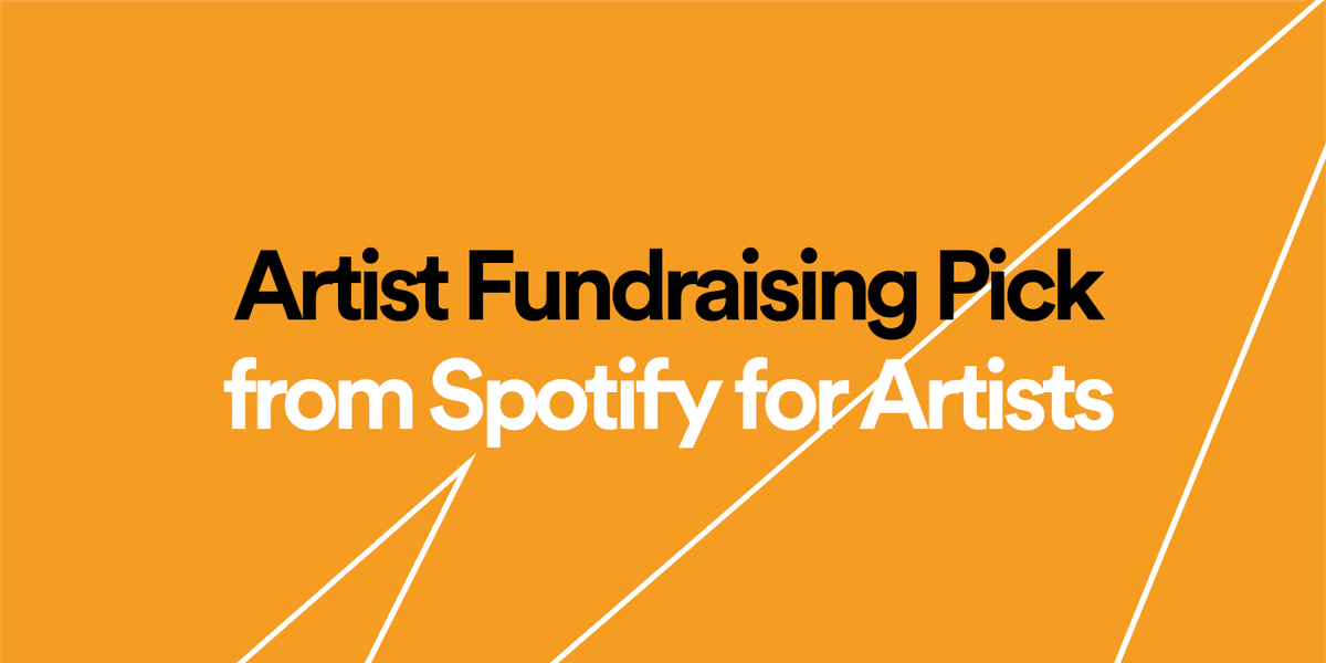 "TuneCore on Twitter: "".@Spotify has launched Artist Fundraising …"