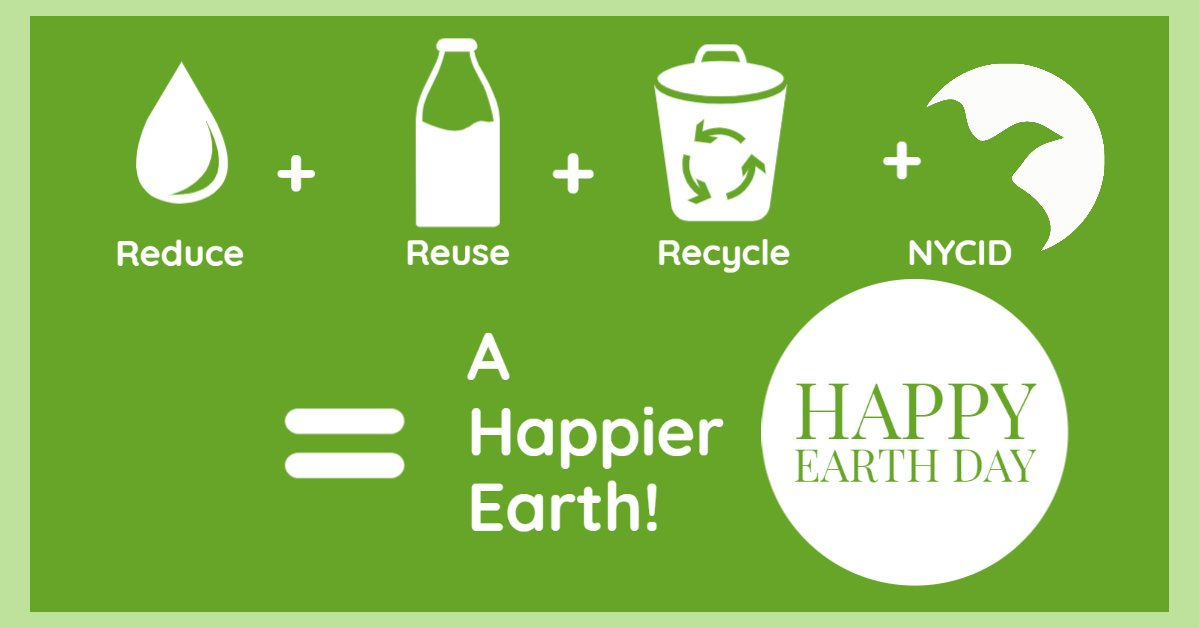 Let's all do our part to keep our earth happy! #EarthDay2020 #WeImproveLives https://t.co/E8SIYPOG0b