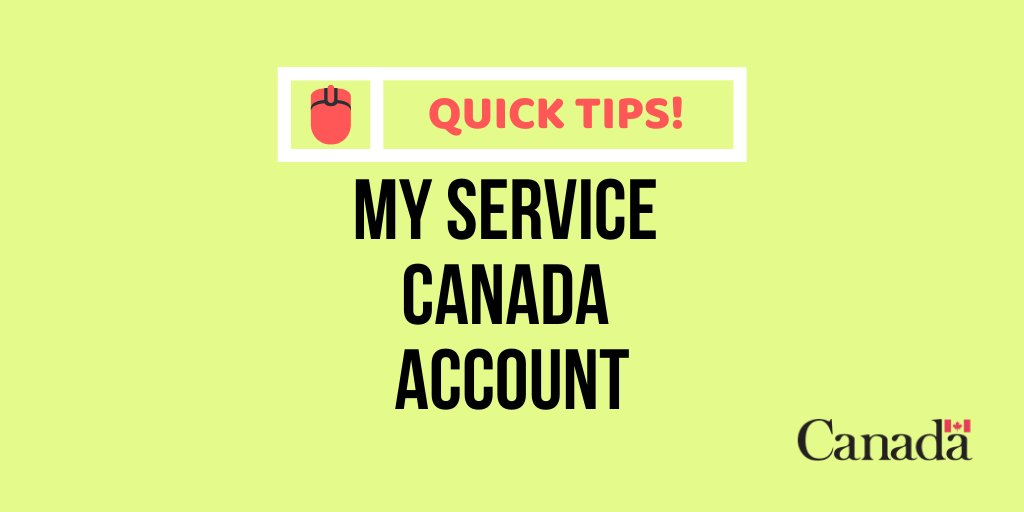 Service Canada On Twitter Avoid Using Bookmarks On The Msca Log In Page To Steer Clear Of Technical Difficulties Https T Co 8snp2palgk