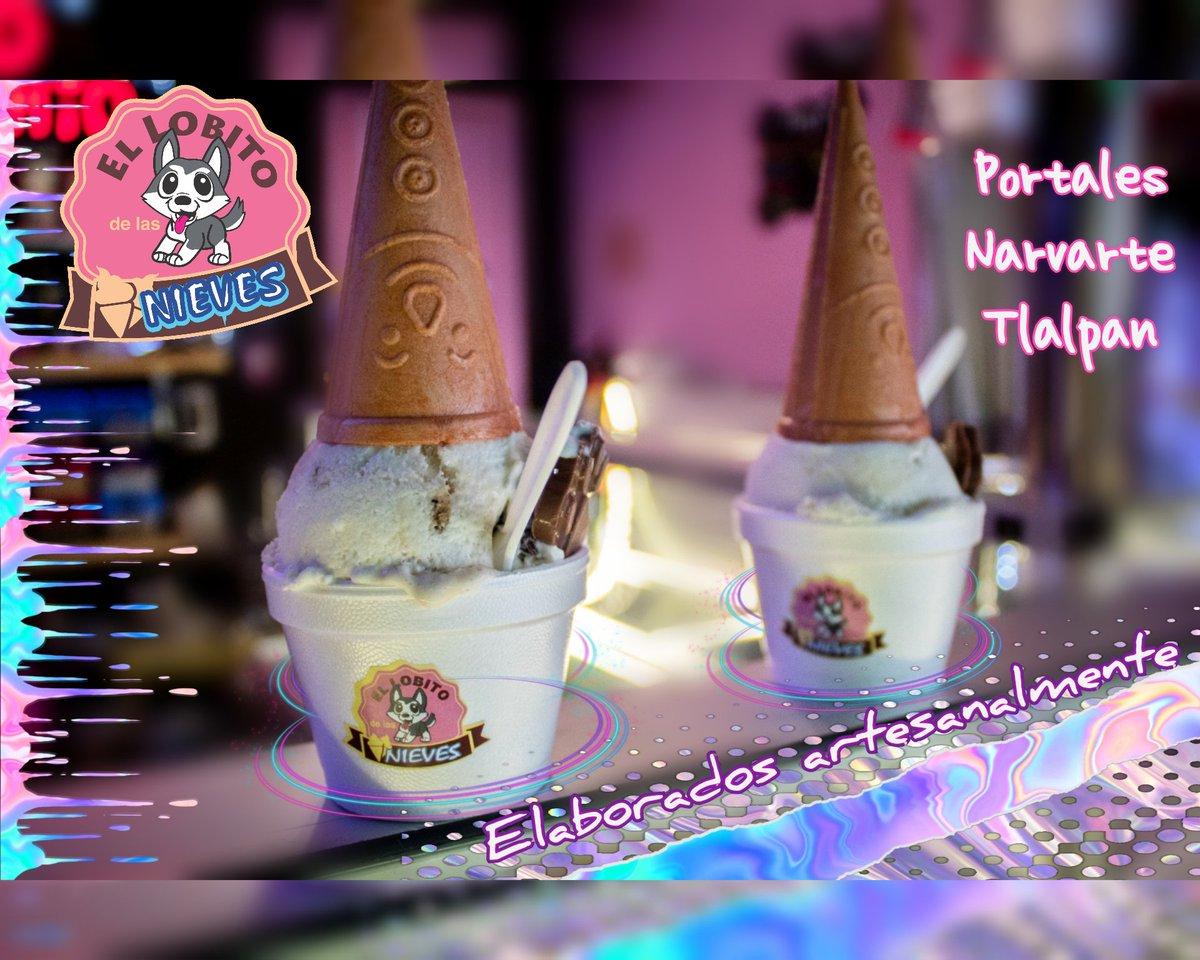 #FelizMiercoles #SiempreInnovando En el Lobito nos encanta que encuentres sabores nuevos y recetas mejoradas 💕 SOLO PARA LLEVAR 😊 #helados #nieves #paletas #frappés #latte #malteadas #té  #cdmx #café #Portales #Narvarte #Tlalpan https://t.co/mBRZjOhqF9
