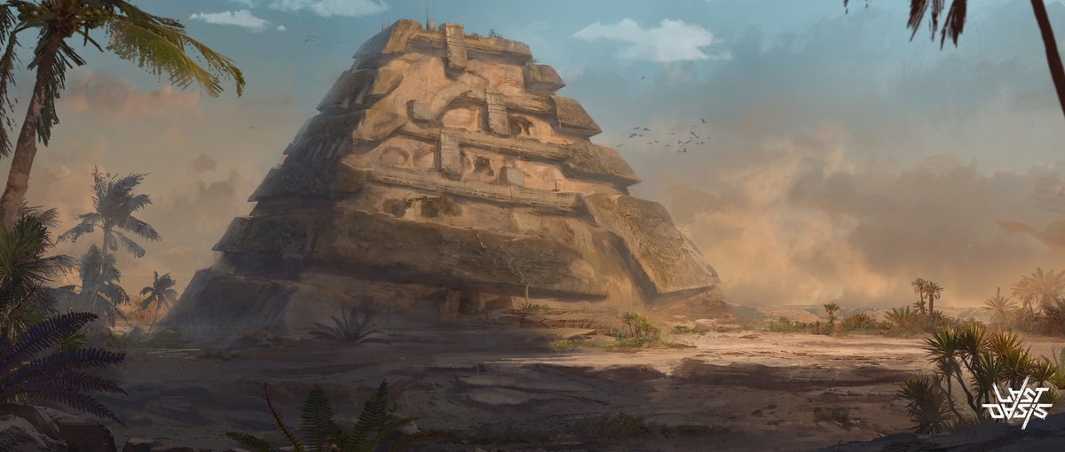 Last Oasis On Twitter One Day A Concept Artist Saw The Desert And Thought You Know What This Place Needs Giant Fuckin Triangles That S What Stolenmemes Indiedevhour Wipwednesday Conceptart Https T Co 0mmdrphr78