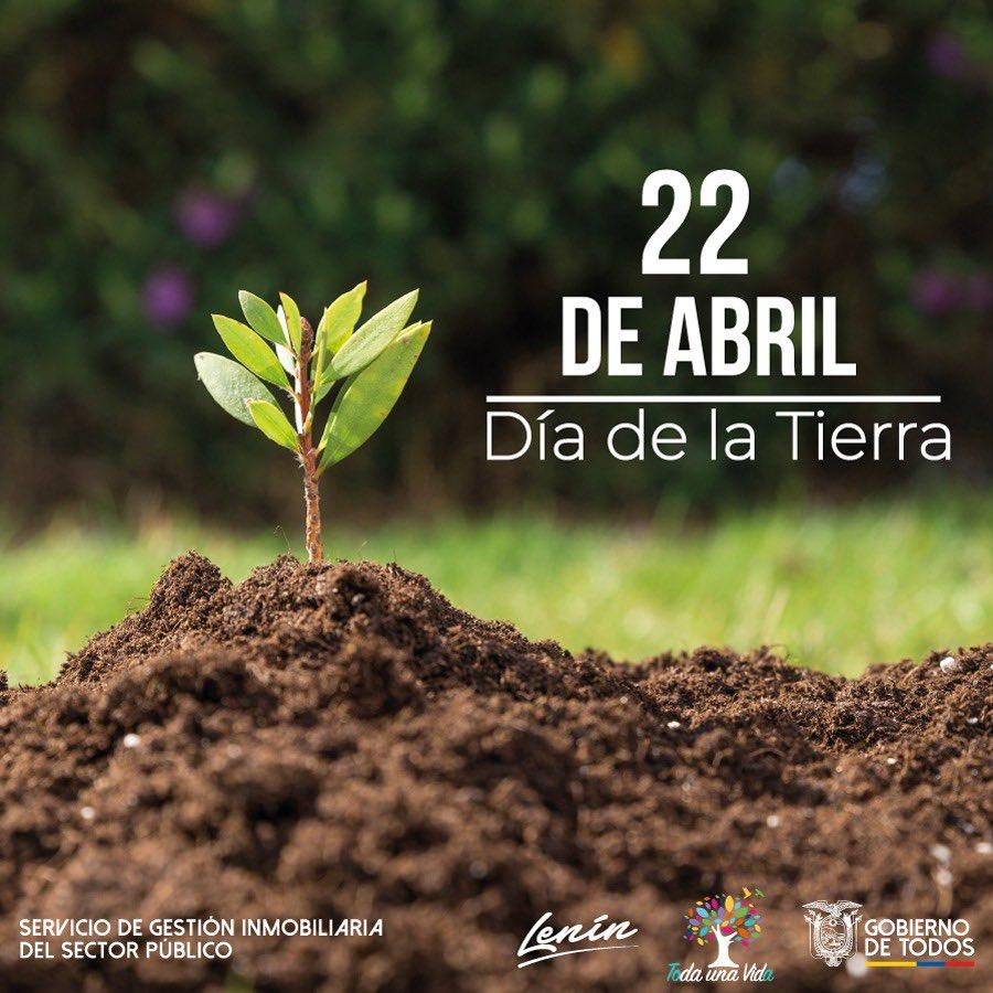 Hoy celebramos 50 años de aniversario del #DíaDelPlanetaTierra para recordarnos lo importante que es la administración responsable de los recursos naturales para evitar daños al medio ambiente. Pronto volveremos a disfrutar de nuestros espacios verdes. https://t.co/Jiu3uakd9m