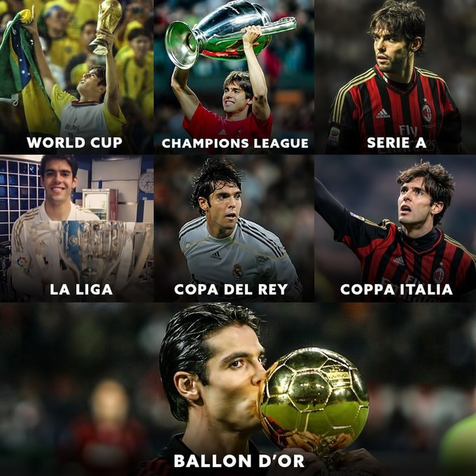 Happy Birthday Kaka.   They don\t make players like him anymore!