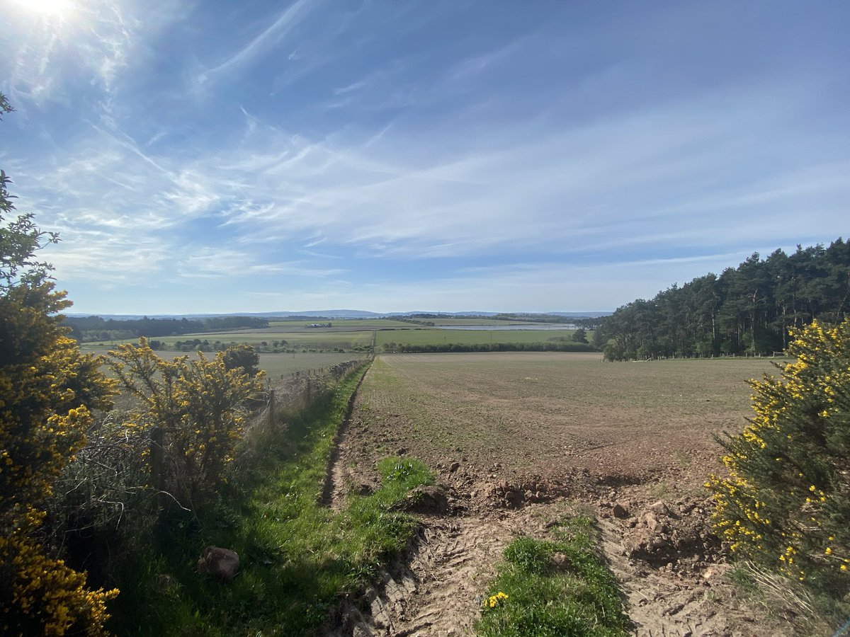 Stationed @RAFLossiemouth? Take a bike ride down the old railway line between Elgin and Lossiemouth, and pass Spynie Palace. New route for me but plenty of great views! https://t.co/nXzCozf3sV