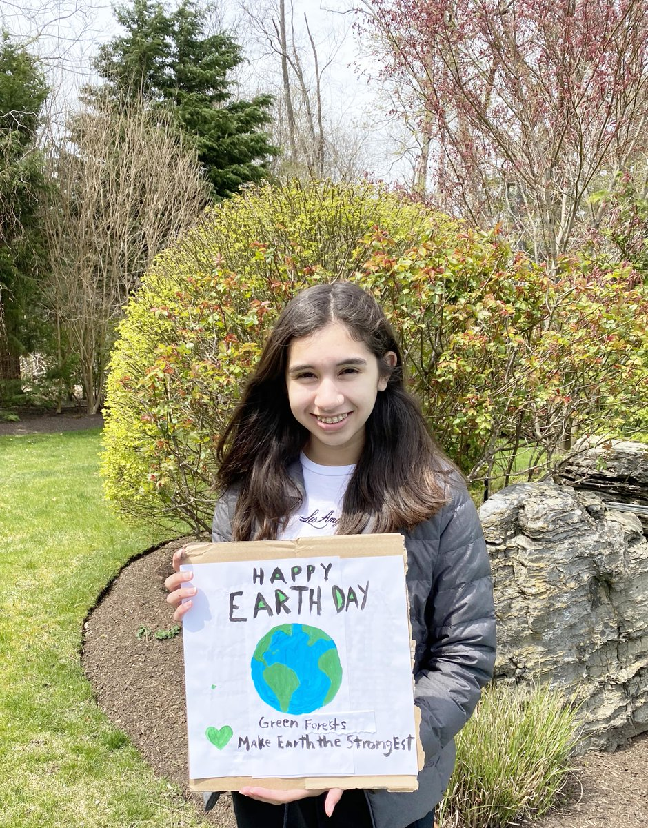 Happy #EarthDay from the middle school Service and Sustainability Committee! How are you celebrating #EarthDay?
