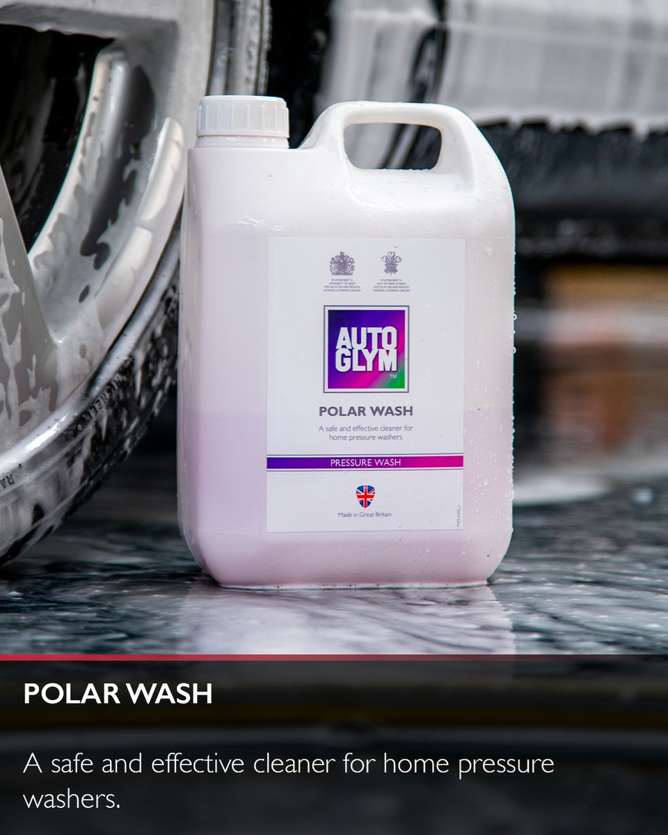 Our Polar Wash is a high-foaming shampoo that is designed specifically for use in a pressure washer! 🙌  Have you tried our Polar Series yet? 🤔 https://t.co/VYypLEpo6Q  #autoglym #carcare #polarwash #carcleaning #detailing #carwash #cardetailing #detailingworld https://t.co/CthChJOVLc