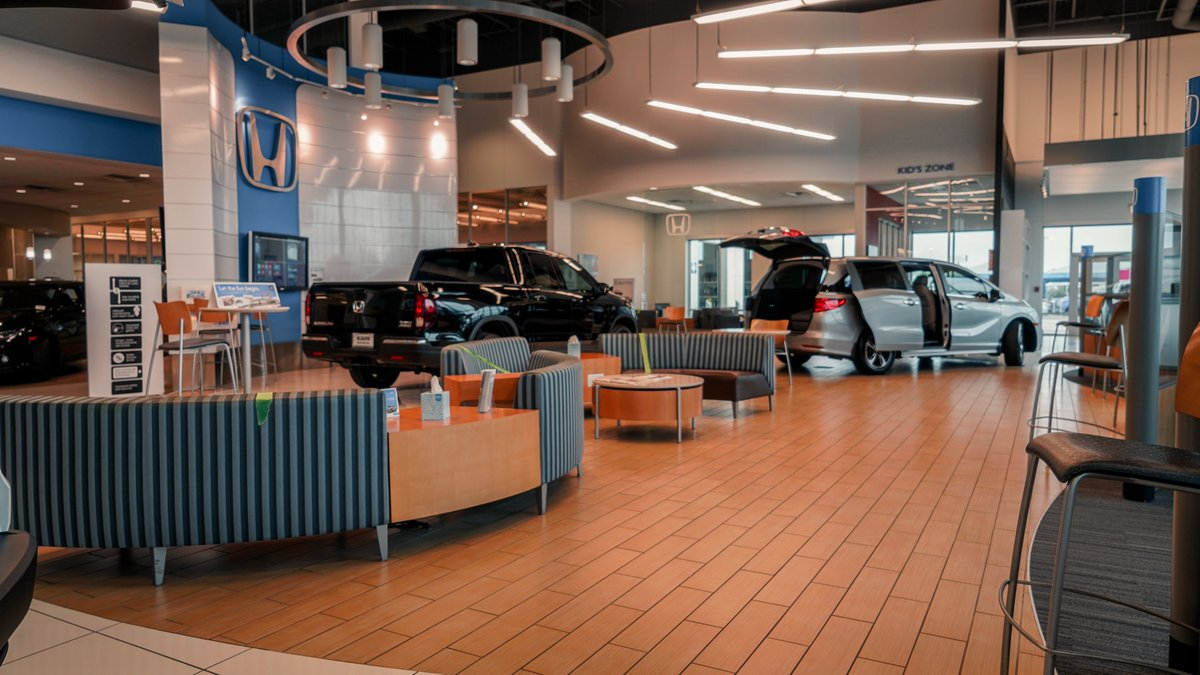 Our showroom has plenty of space to safely shop and practice social distancing!