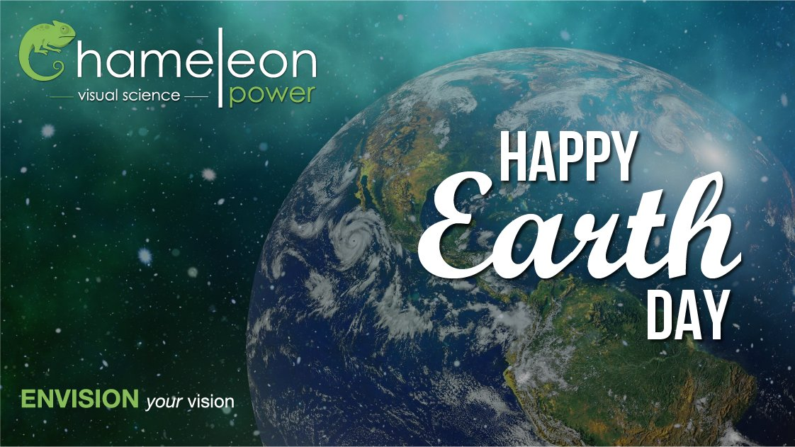 Happy Earth Day!  #ChameleonPower #earthday #earthday2020 #visualizer #visualscience #visualization #earth https://t.co/c04st0lYLm