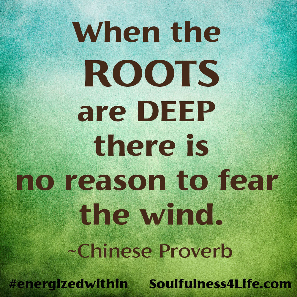 """SoulQuestion: (For Contemplation and Conversation) What will you do to deepen your """"soul roots"""" during this time of change?  https://t.co/bg4CaENZFk #EarthDay #WednesdayWisdom #quotes #inspiration #mindfulness #roots #rooted https://t.co/tE4wyUl3gx"""