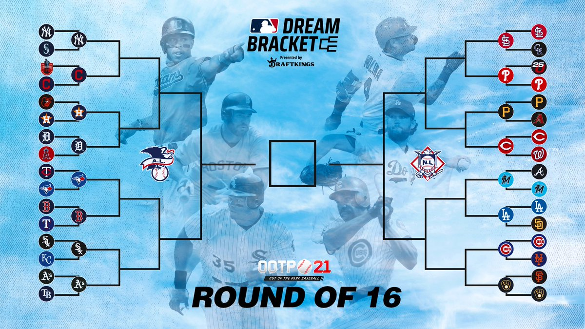 Mlb On Twitter 16 Teams Have Advanced In The Mlb Dream Bracket Presented By Draftkings Who Will Be Moving On Play Now For Free Https T Co Mubwhznqvq Https T Co Vptzuyjior