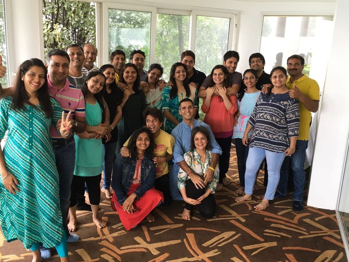 """Nina Lekhi on Twitter: """"Such a wonderful feeling to share my thoughts with  my team through ME-time messages and being able to inspire them for inner  growth. #leadershipskill #entrepreneurshipskill… https://t.co/YEsFd6ePcF"""""""