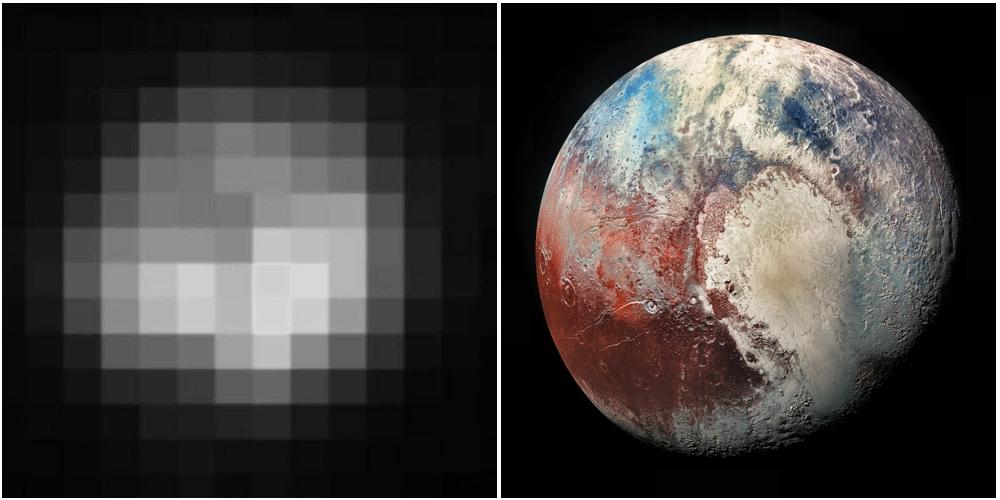 Pluto 1994 | 2018 https://t.co/xcVPNo3W9v