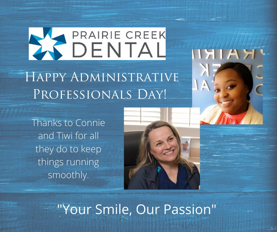 We have a great administrative team members!  We are excited to be able to work together again soon.  #pcd  #prairicreekdental  #greatteam #letsgetbacktowork  #mainstreetdentist  #dentistinlewisville #miniimplants  #veneers #cosmetic  #yoursmileourpassion #youreingoodhandspic.twitter.com/gDB7kIA8bb