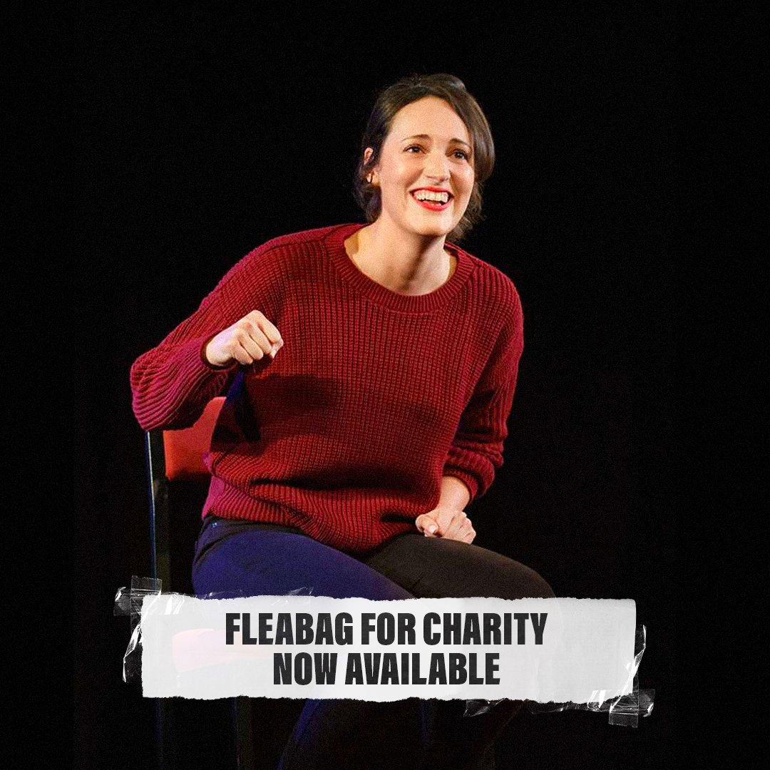 Don't miss #FleabagForCharity on Prime Video - rent it now with your £4.00 donation going to support the NHS and the arts.