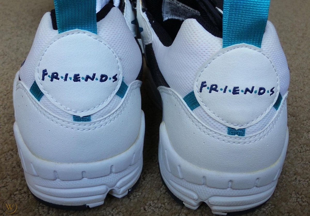 LIMITED EDITION NIKE TENNIS SHOES FRIENDS 2ND SEASON CAST & CREW GIFT PROMO SWAG