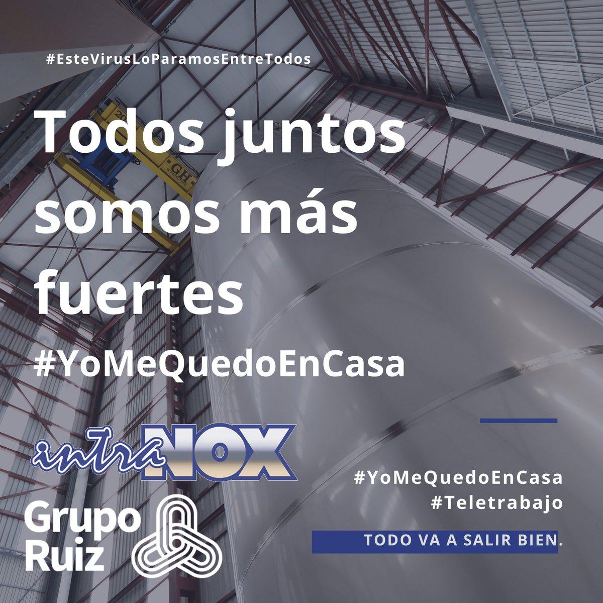 ¡ Un día más es un día menos! #teletrabajo  #YoMeQuedoEnCasa #EsteVirusLosParamosUnidos   #depósitos #acero #inoxidable #silo #disease #fabricación #montaje https://t.co/s7JxKiWY5o