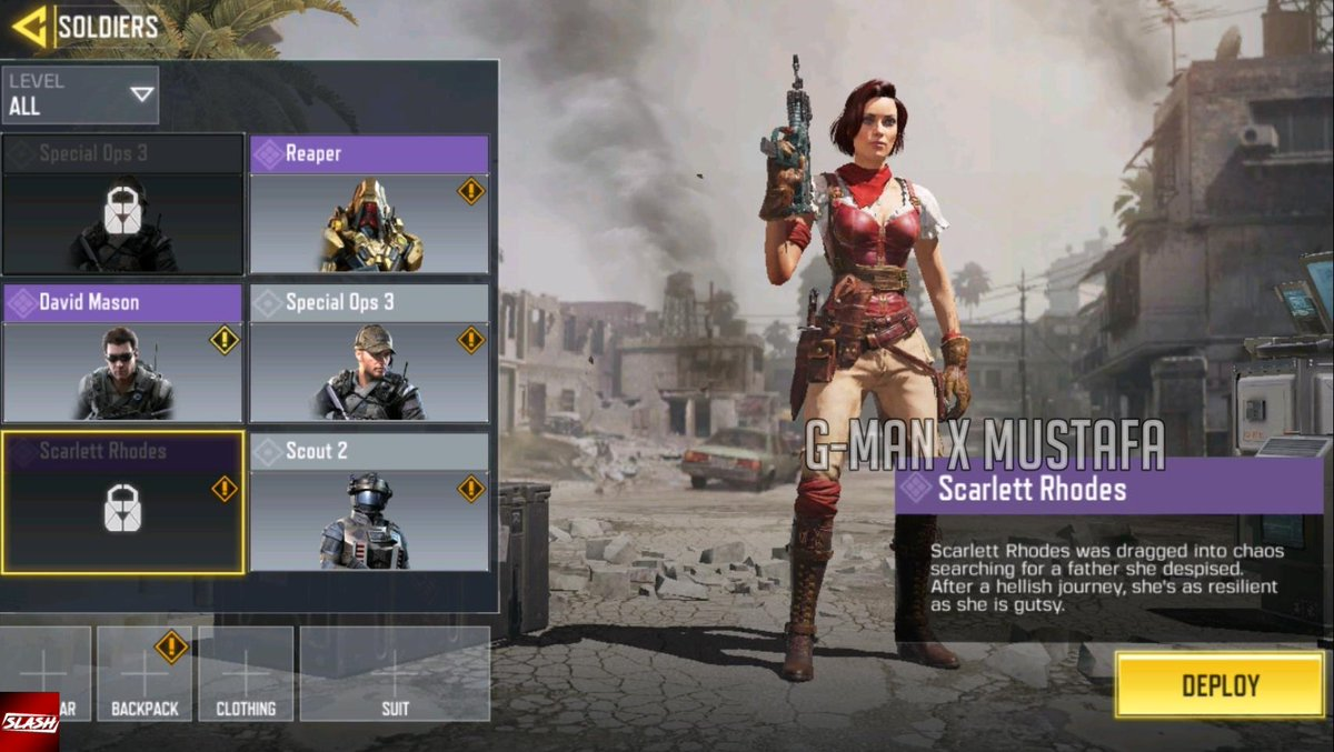 Call Of Duty Mobile On Twitter Another New Female