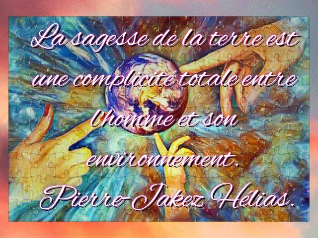 #autisme #handicap #MoisDeLautisme  #journeeMondialeDelaTerre  Citation du jour par Leo Progress de https://t.co/EowQRn5T3O  La sagesse de la terre est une complicité totale entre l'homme et son environnement.  Pierre-Jakez Hélias. https://t.co/5D6RyHtZlW