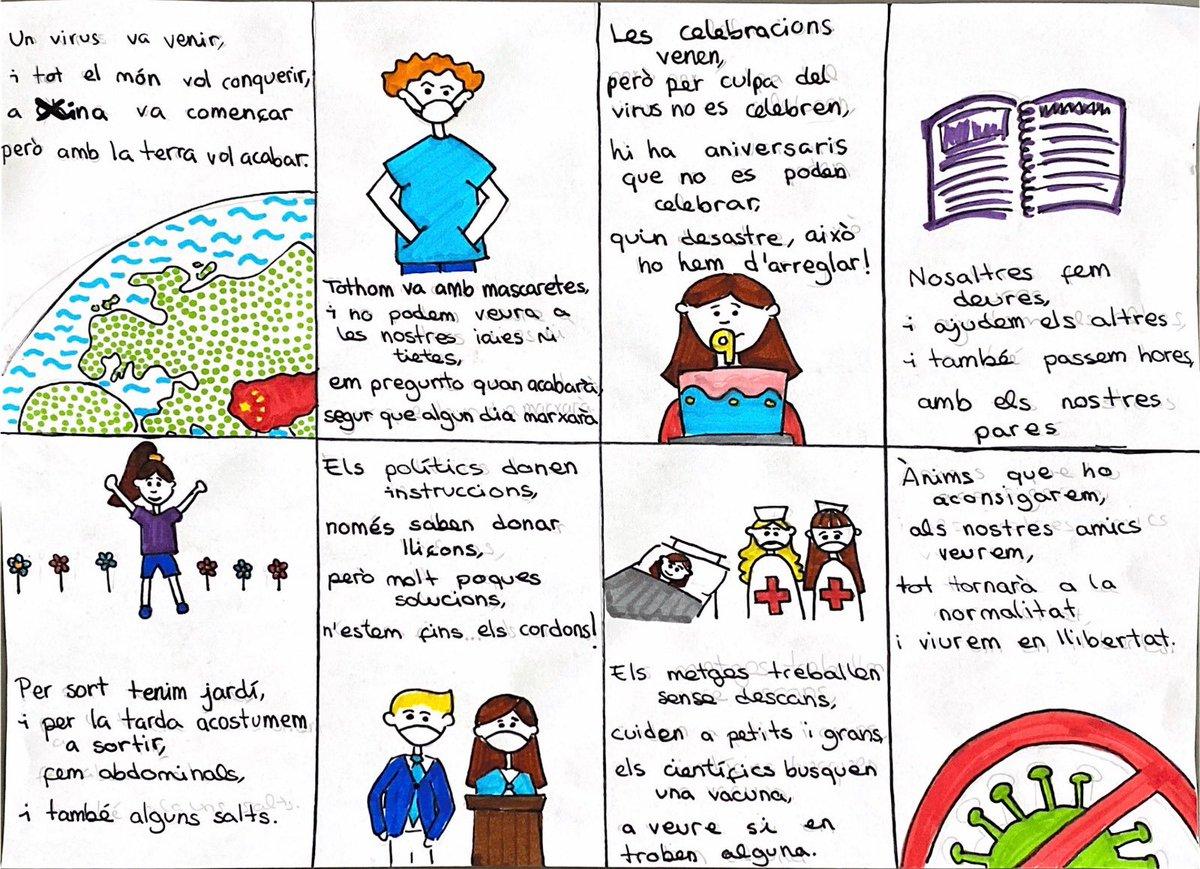 L'Auca del Coronavirus by Abril Vela #santjordiacasa #quedatacasa #StayAtHome https://t.co/I0chIUGMbX