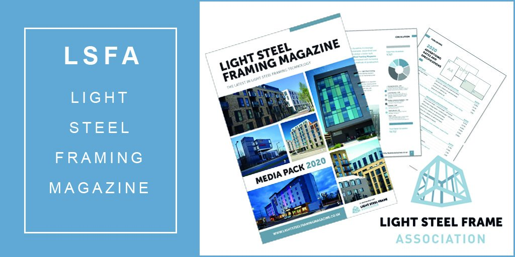 Lsf Association On Twitter New Industry Title Light Steel Framing Magazine Covering The Latest News And Innovation In Our Sector Launches This May Subscribe To Receive Your Free Copy Https T Co Rowopfc3qd Lsfa Lsfmag Lightsteelframe