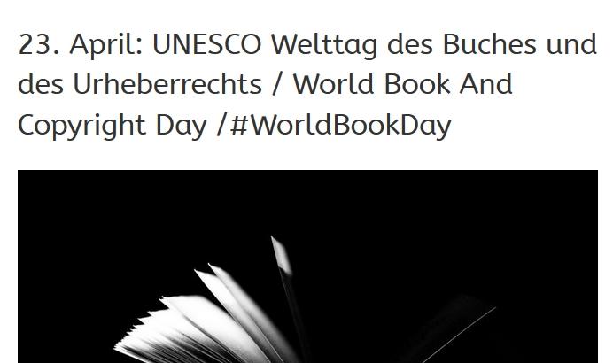 #WorldBookDay