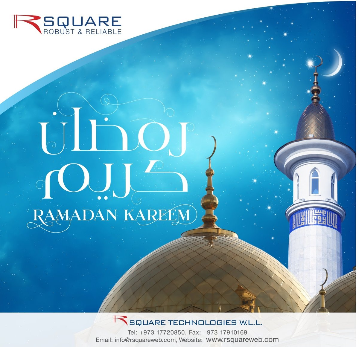 May this holy month of Ramadan bring good Health, Peace and Prosperity to you and your family. #teambahrain #bahrainfintechbay #mena #gcc #bahrain #rsquare #ramadan2020 https://t.co/Hn0VYg7jZX