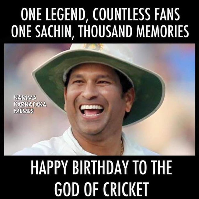 Happy Birthday Sachin Tendulkar !! :)