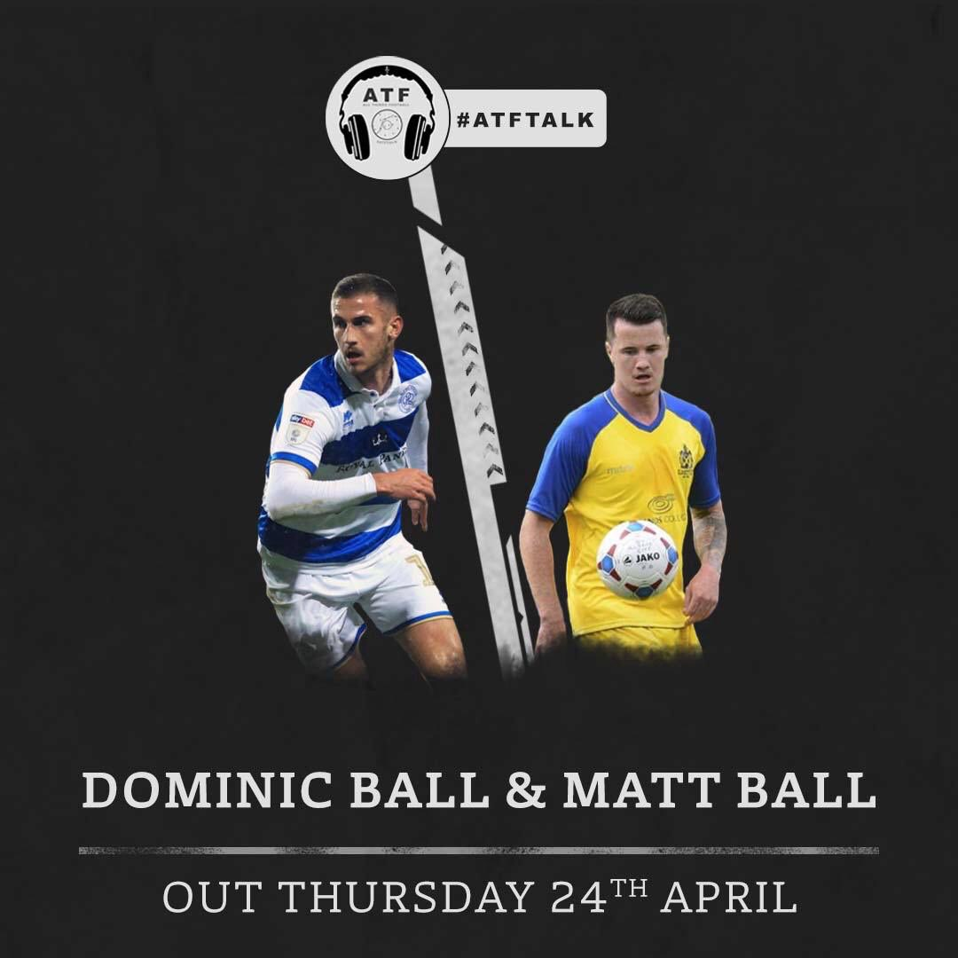 Our next guests and out tonight @DominicBall6 @QPR midfielder and @mattball1993 his brother and non league player