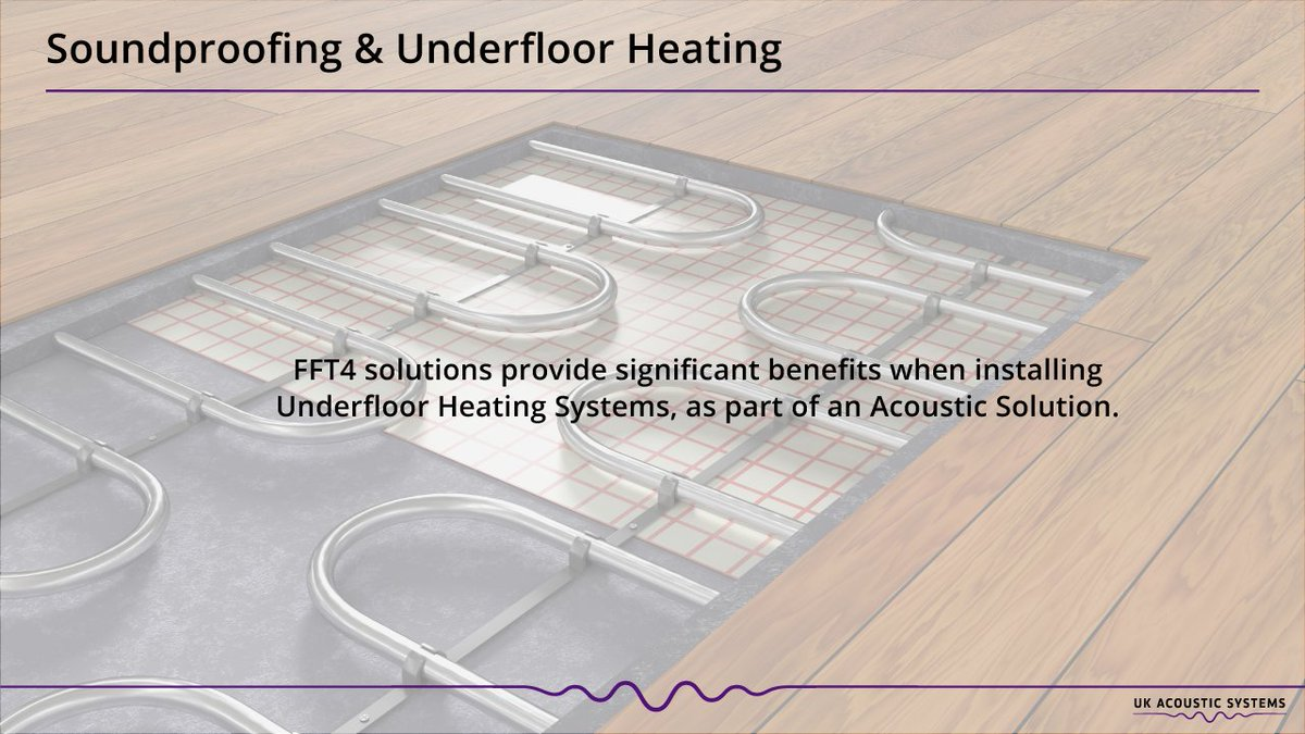 Our Acoustic Flooring Solutions Combine