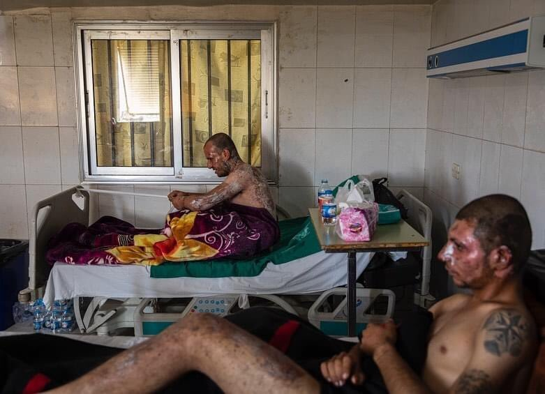 Photos of injured YPG fighters by photographer @ivorprickett are nominated for the World Press Photo of the year. These photos remind us how the US betrayed Kurds immediately after SDF defeated ISIS in Baghuz in March 2019.