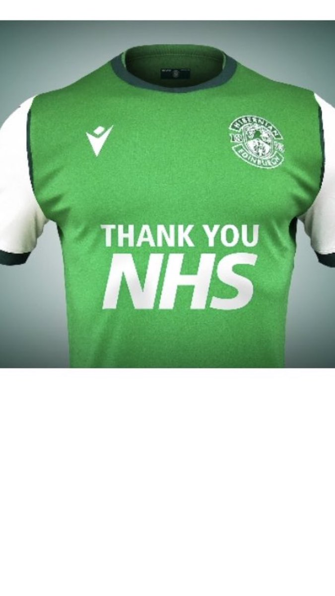 Nice touch from Scottish football club Hibs for home games next season - let's hope they get some football so those shirts can be seen https://t.co/rkUZrd8bPu