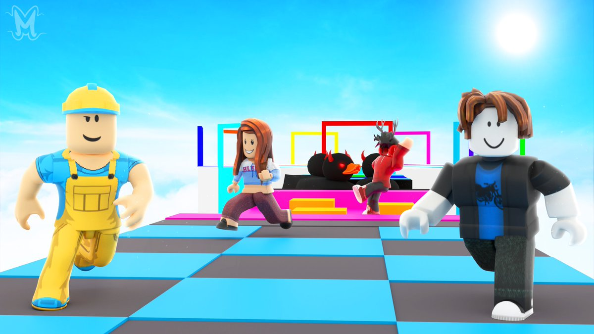 Roblox Obby Maker Modedeveloper On Twitter New Thumbnail Commission For Cr Unchrblx S Obby Maker Game Likes And Rts Are Appreciated Roblox Robloxdev Robloxgfx Https T Co Ljk7hgbzag