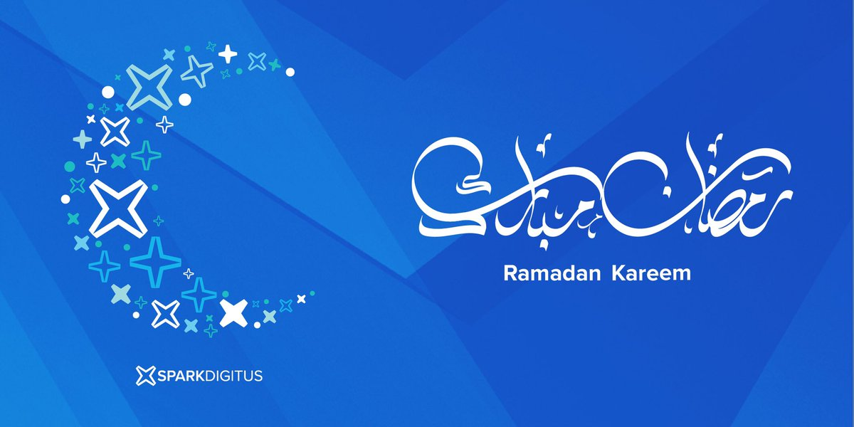 Spark Digitus family wishes you and your family a blessed holy month.  Ramadan Mubarak!  #ramadan #ramadan_kareem #bahrain #ads #bahrain_ads #manama #ksa #riyadh #ramadankareem #ramadanmubarak #spark #sparkdigitus #staysafe https://t.co/HjhI3K5JuF