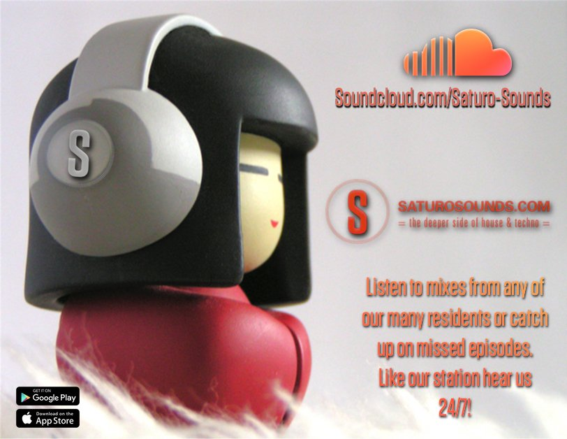 Stream mixes on our @SoundCloud page from any of our many residents or catch up with missed or favorite episodes!  Follow this link: http://www.Soundcloud.com/saturo-sounds  #TheDeeperSideOfHouseAndTechno #saturosounds #housemusic #progressivehouse #techno #deephouse #classichousemusic pic.twitter.com/zJR8v0qrsN