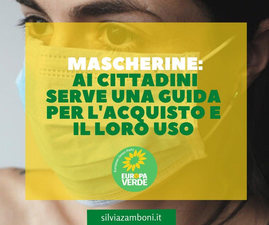 Un nuovo articolo (Serve una guida ai cittadini per lacquisto e luso delle mascherine) è su Silvia Zamboni - silviazamboni.it/serve-una-guid…