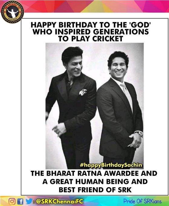 Happy Birthday to the God of Indian Cricket, Master Blaster Sachin Tendulkar