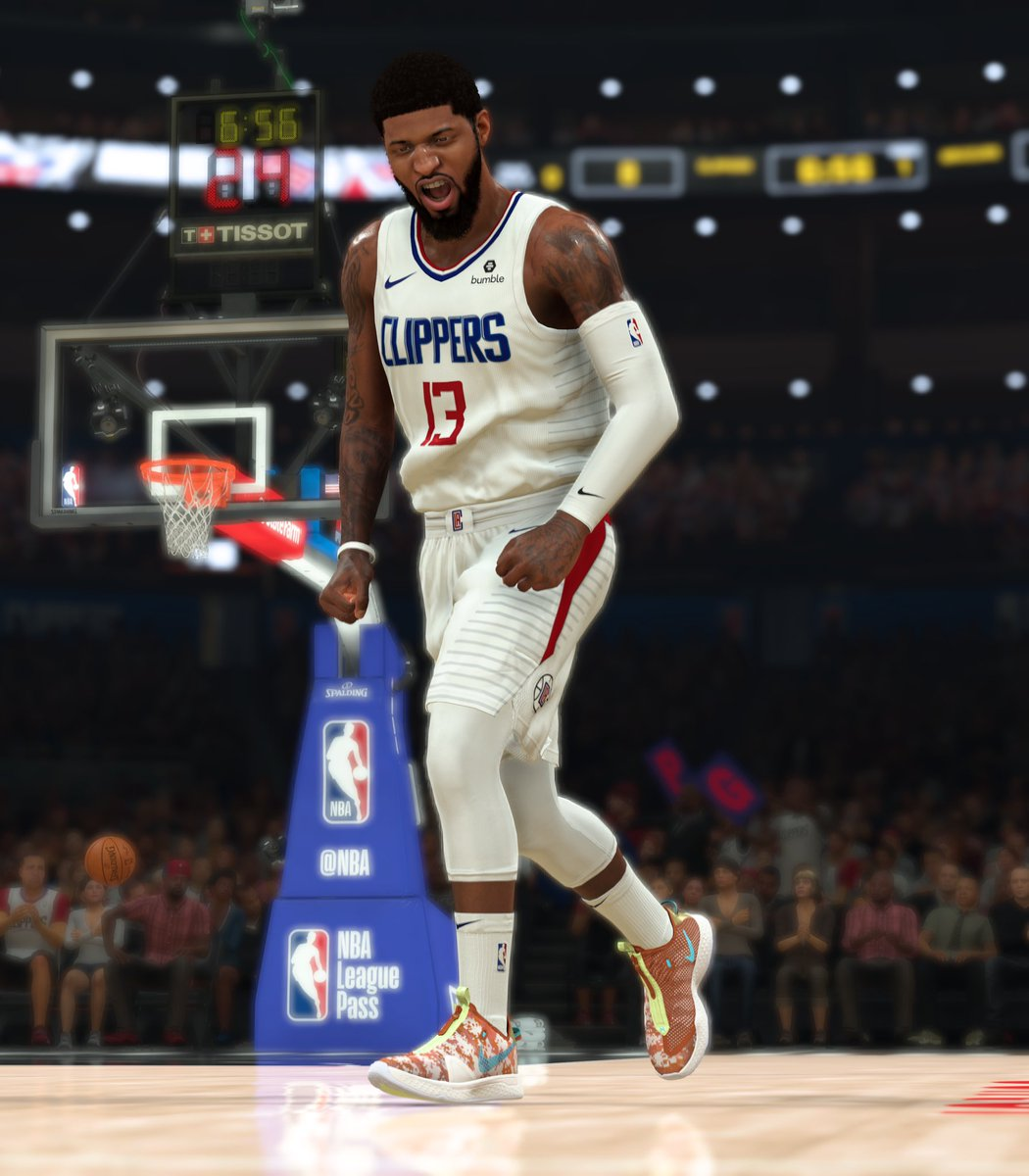 The PG 4 'Digi-Camo' GE.  Win a MyPLAYER Nation playoff game on @NBA2K starting April 25 to unlock @Yg_Trece's second Gamer Exclusive.  Learn more: https://t.co/i2MHabouyQ #NBA2K20 #Nike https://t.co/9NKaeiglLO
