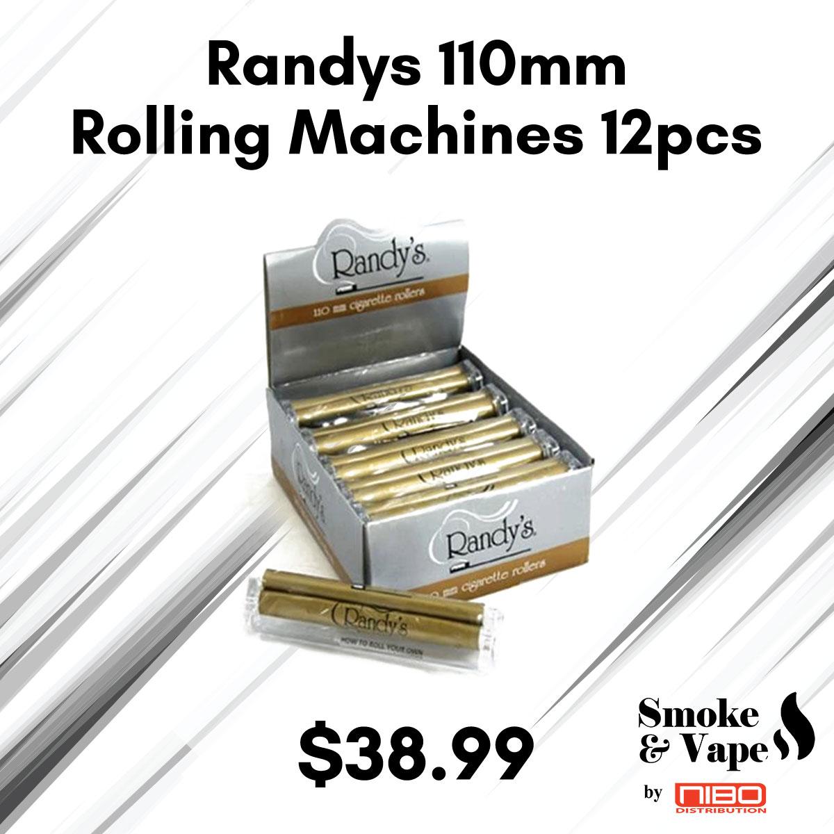 Randys 110mm Rolling Machines 12pcs  https://t.co/kyg4v8DLRE  #randays #Elements #RollingMachines #RawTubes #raw_rolling #tray #rawtray #smokeVape #smoking_accessory #rawtraymini #mini #mini_tray #canada #smoking #vaping #smokefans #vape #toronto_smoke_accessory https://t.co/jpGRdC36ee
