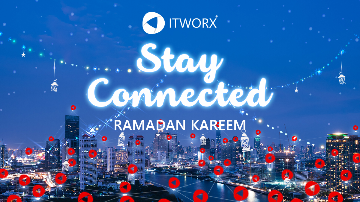 Wishing everyone a blessed Ramadan. Maintain social distancing, yet make sure you stay connected with all your loved ones.  Stay Safe, Stay Connected :)  #ITWorx #StayConnected #StaySafe https://t.co/ldFsSGFKzo