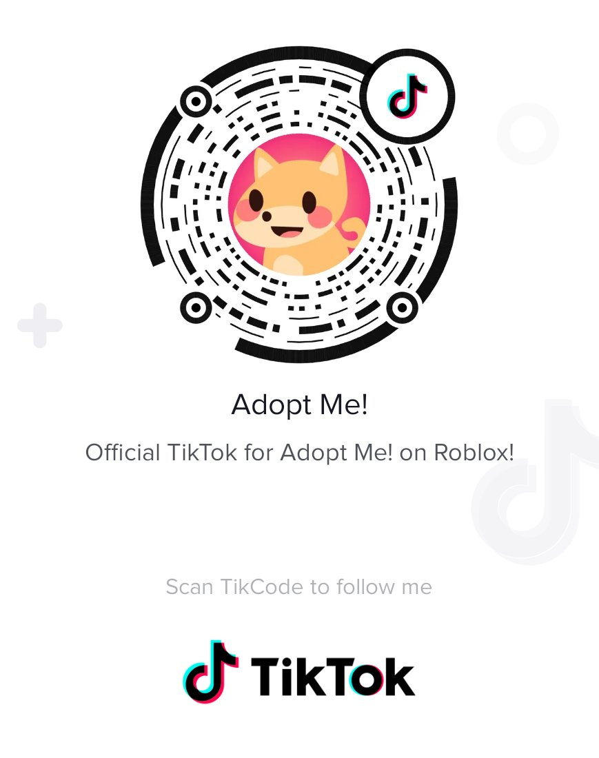 Adopt Me On Twitter We Have A Brand New Official Tiktok