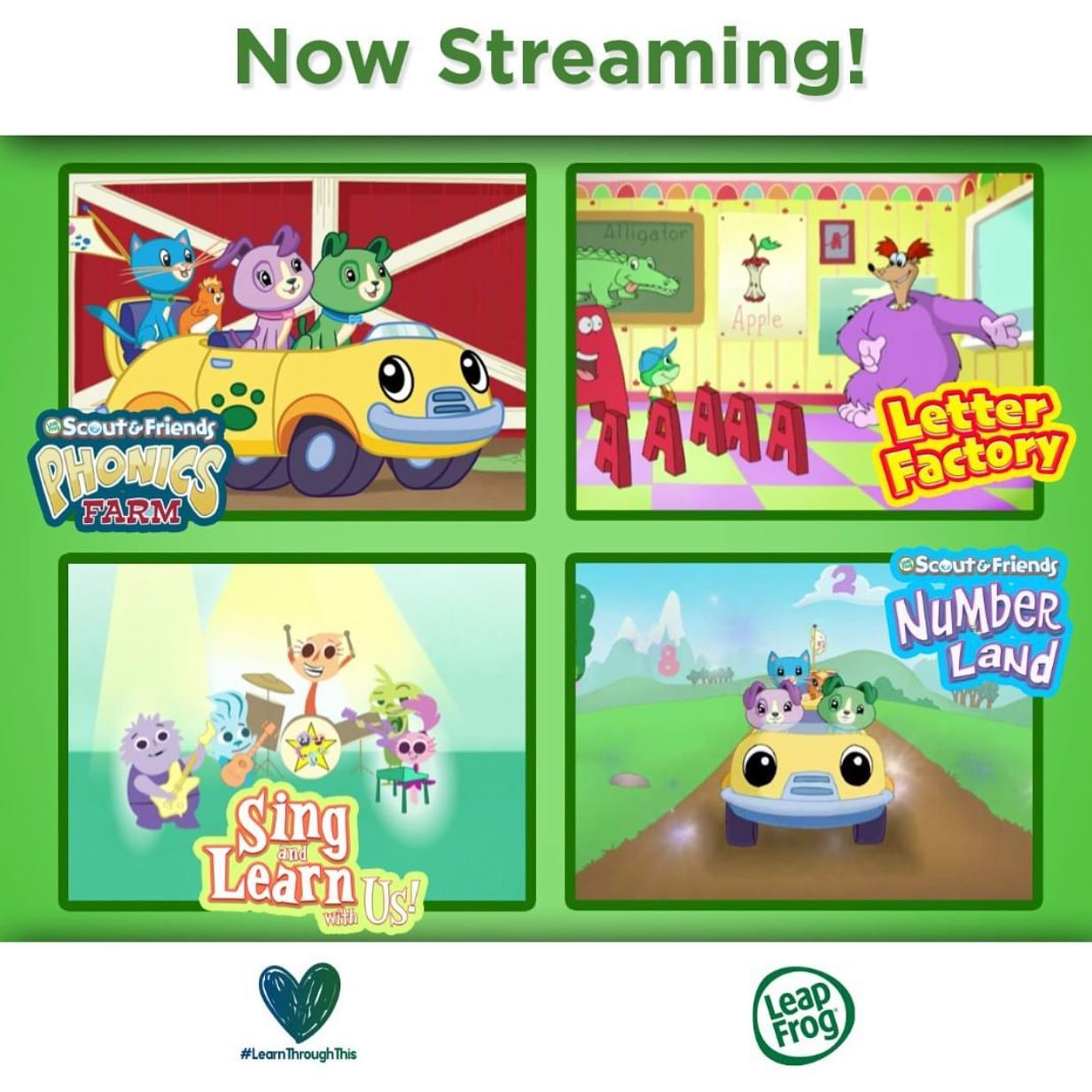 Leapfrog Canada On Twitter Steaming Now On Netflix You Can Now Watch Our Classic Leapfrog Videos Scout Friends Letter Factory Phonics Farm And More Are Now Available Netflix Scoutandfriends Learnthroughthis Https T Co Mjqa3mcgkm