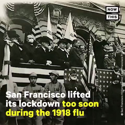 During the 1918 flu, San Francisco lifted its lockdown early — and direly paid the price