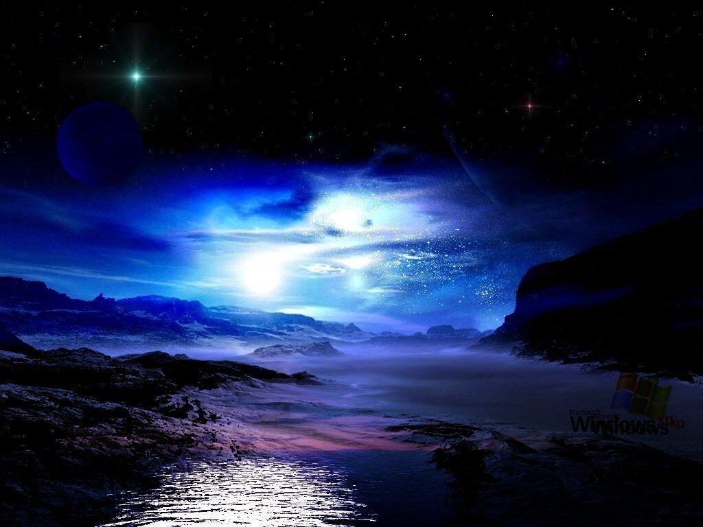 Красивая ночь гиф