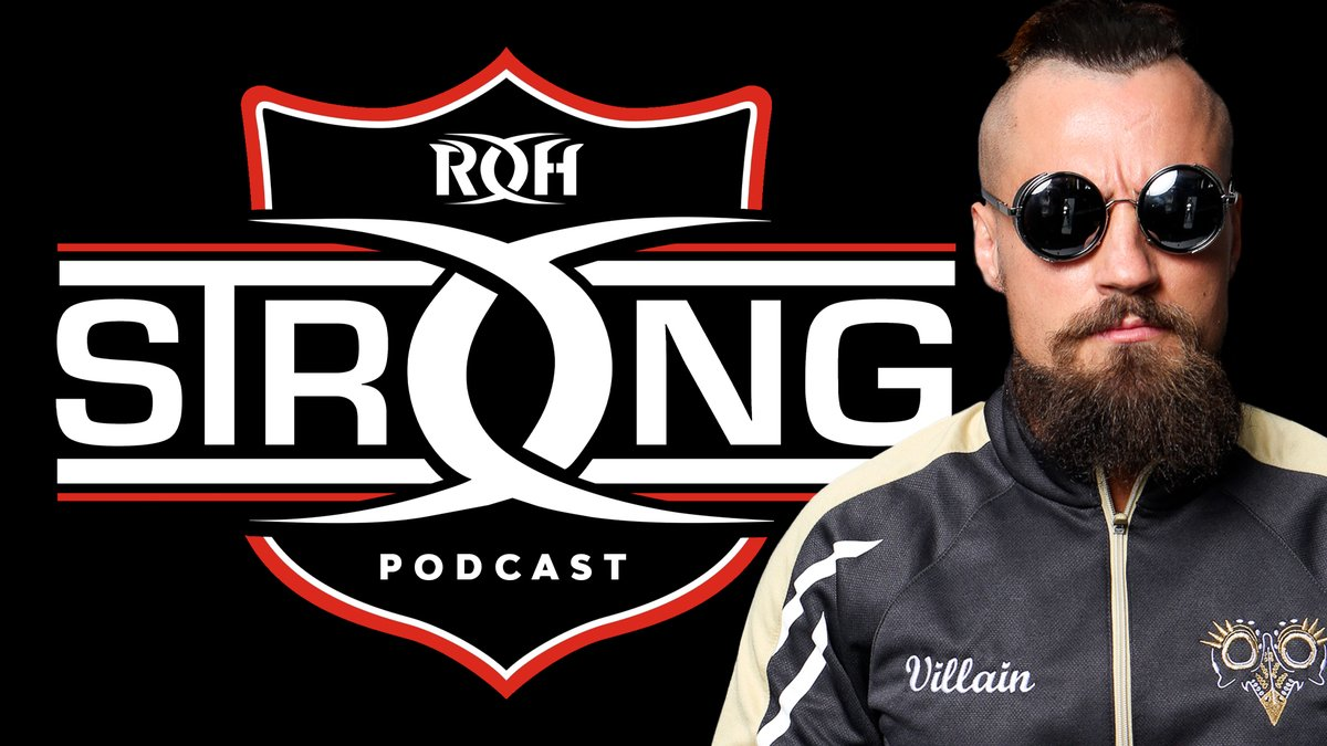 Ring Of Honor Announces ROHStrong Podcast, Marty Scurll To Be First Guest