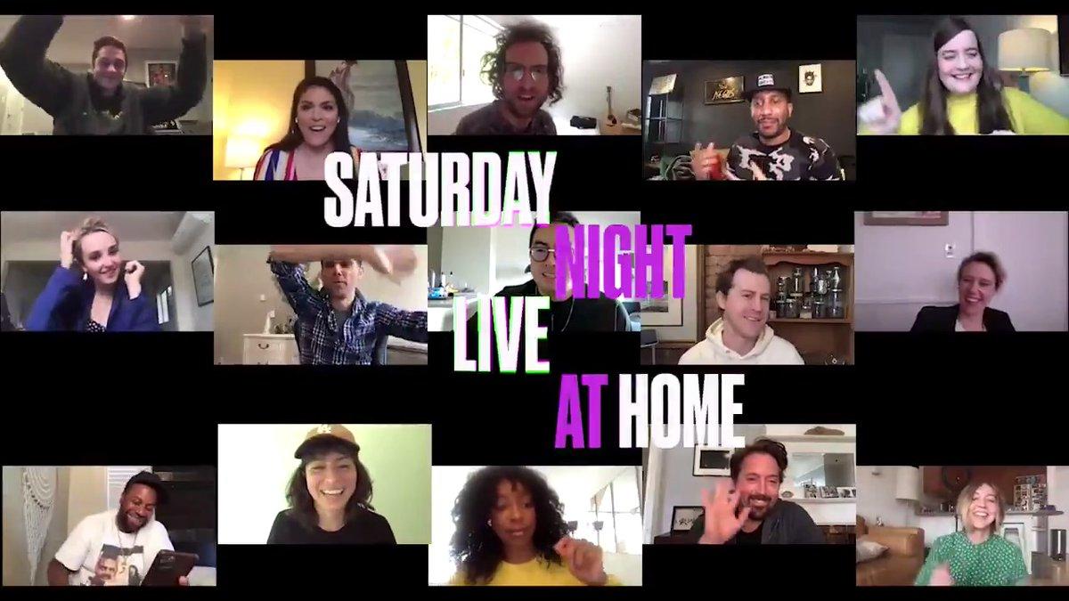‼️ We're back this Saturday ‼️ #SNLAtHome