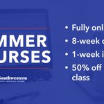 Image for the Tweet beginning: 8-week courses are open now,