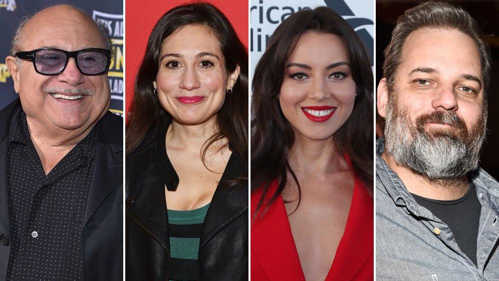 Animate me babies 👿 FX Orders Animated Comedy Pilot 'Little Demon'; Danny & Lucy DeVito, Aubrey Plaza To Star, Dan Harmon To EP