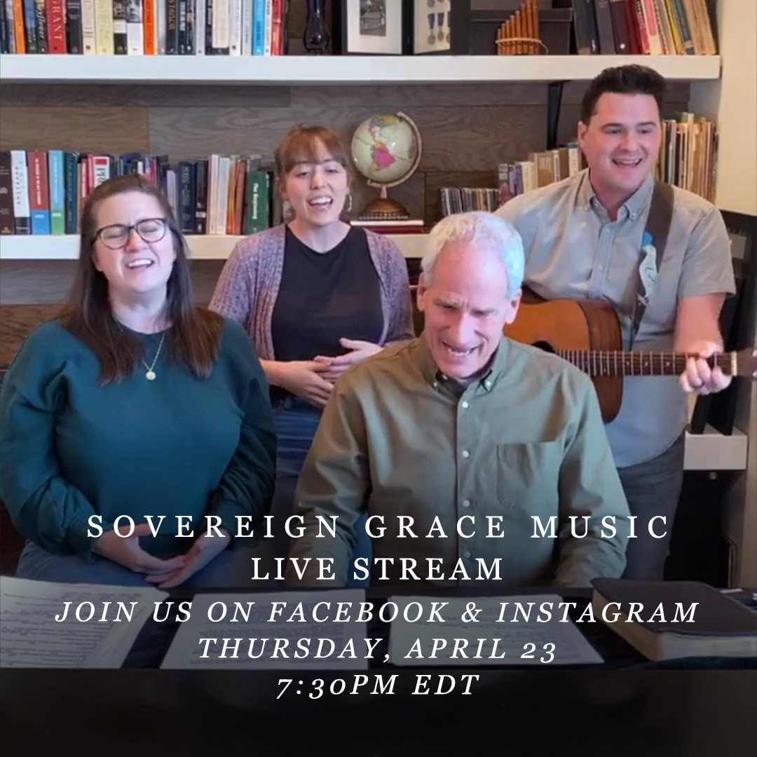 We are now LIVE over on our Facebook and Instagram and wed love for you to join us! facebook.com/SovereignGrace… instagram.com/sovgracemusic