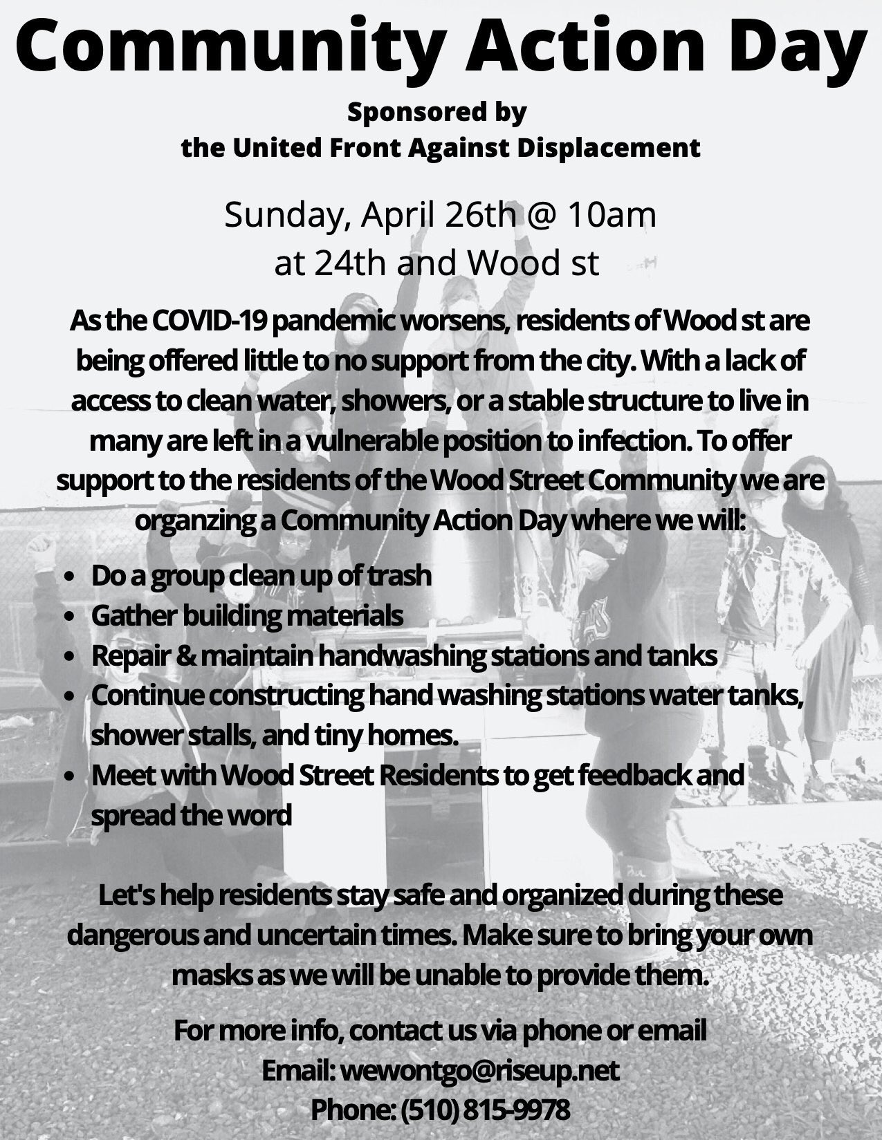 Wood Street Community Action Day