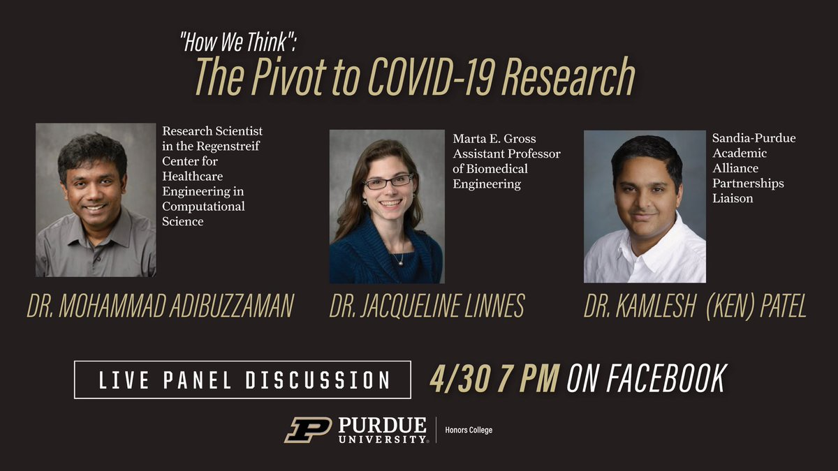Can't wait to hear colleague @jac_linnes views on recent exciting pivot to #COVID19 research and detection!
